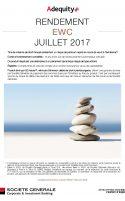 Rendement EWC Juillet 2017