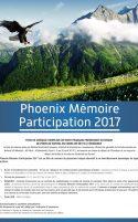 Phoenix Memoire Participation 2017
